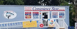 Cape Haze Convenience Store Front of Building