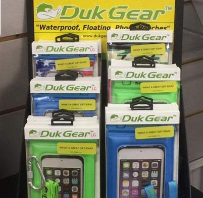 Duk Gear Phone Pouches Rack